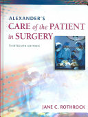 Alexander s Care of the Patient in Surgery