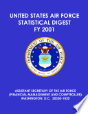 United States Air Force statistical digest fiscal year 2001
