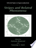 Stripes And Related Phenomena Book PDF