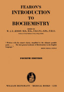 Fearon's Introduction to Biochemistry