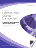 Organizational Transformation And E Business Implementation