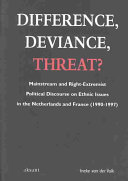 Difference  Deviance  Threat