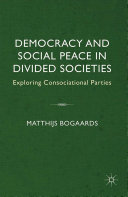 Pdf Democracy and Social Peace in Divided Societies Telecharger