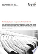 Retail Loyalty Programs     Tapping Into Their Hidden Benefits