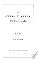 The Chess Players Chronicle