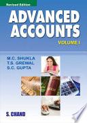 Advanced Accounts Vol-I