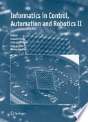 Informatics In Control Automation And Robotics Ii