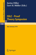 ISILC - Proof Theory Symposion