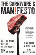 The Carnivore's Manifesto [Pdf/ePub] eBook