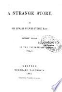 A Strange Story Book PDF