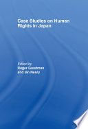 Case Studies on Human Rights in Japan Book