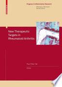 New Therapeutic Targets in Rheumatoid Arthritis
