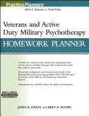 Veterans and Active Duty Military Psychotherapy Homework Planner   with Download