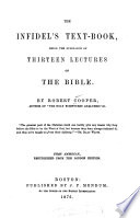 The Infidel's Text-book