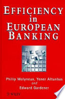 Efficiency in European banking