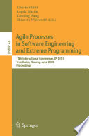 Agile Processes In Software Engineering And Extreme Programming Book PDF