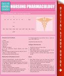 Nursing Pharmacology  Speedy Study Guides