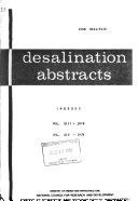 Desalination Abstracts