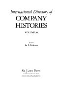 International Directory of Company Histories Book
