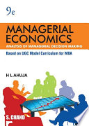 Managerial Economics (Analysis of Managerial Decision Making), 9th Edition