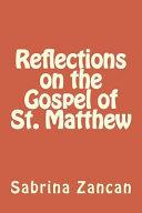 Reflections On The Gospel Of St Matthew
