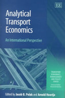 Analytical Transport Economics Book