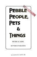 Pebble People, Pets & Things