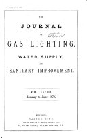 The Journal of Gas Lighting  Water Supply   Sanitary Improvement