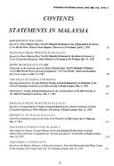Foreign Affairs Malaysia