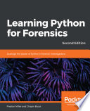 Learning Python For Forensics Book PDF