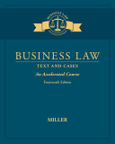 Business Law  Text   Cases   An Accelerated Course
