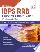 IBPS RRB Guide for Officer Scale 1  Preliminary   Main   2   3 Exam with 3 Online Practice Sets 5th Edition