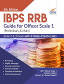 IBPS RRB Guide for Officer Scale 1 (Preliminary & Main), 2 & 3 Exam with 3 Online Practice Sets 5th Edition Book