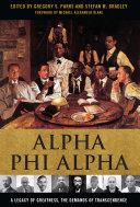 Pdf Alpha Phi Alpha