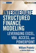 Intermediate Structured Finance Modeling