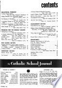 Catholic School Journal  , Band 64