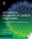 Mechanical Behaviors of Carbon Nanotubes Book