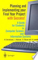 Planning And Implementing Your Final Year Project With Success