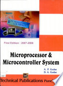 Microprocessors & Microcontroller Systems