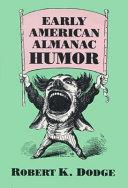 Early American Almanac Humor