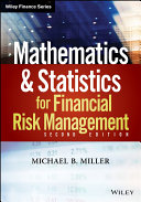 Pdf Mathematics and Statistics for Financial Risk Management Telecharger