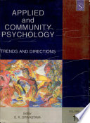 Applied And Community Psychology (2 Vol. Set)
