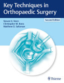 Key Techniques in Orthopaedic Surgery