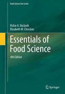 Essentials of Food Science Book