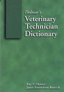 Delmar s Veterinary Technician Dictionary