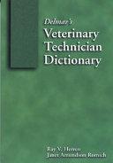 Delmar S Veterinary Technician Dictionary