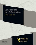 Democracy And The Us Constitution Book