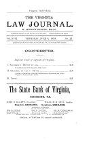 Virginia Law Journal