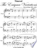 Nimrod the Enigma Variations Easy Piano Sheet Music