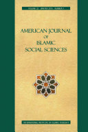 American Journal of Islamic Social Sciences 32 1